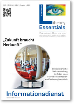 Cover Library Essentials Ausgabe 06/2012