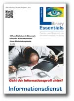 Cover Library Essentials Ausgabe 08/2012
