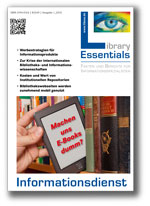 Cover Library Essentials Ausgabe 01/2013