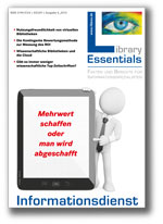 Cover Library Essentials Ausgabe 04/2013