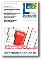 Cover Library Essentials Ausgabe 06/2013