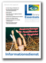 Cover Library Essentials Ausgabe 08/2013