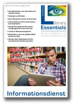 Cover Library Essentials Ausgabe 10/2013