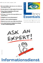 Cover Library Essentials Ausgabe 1/2014