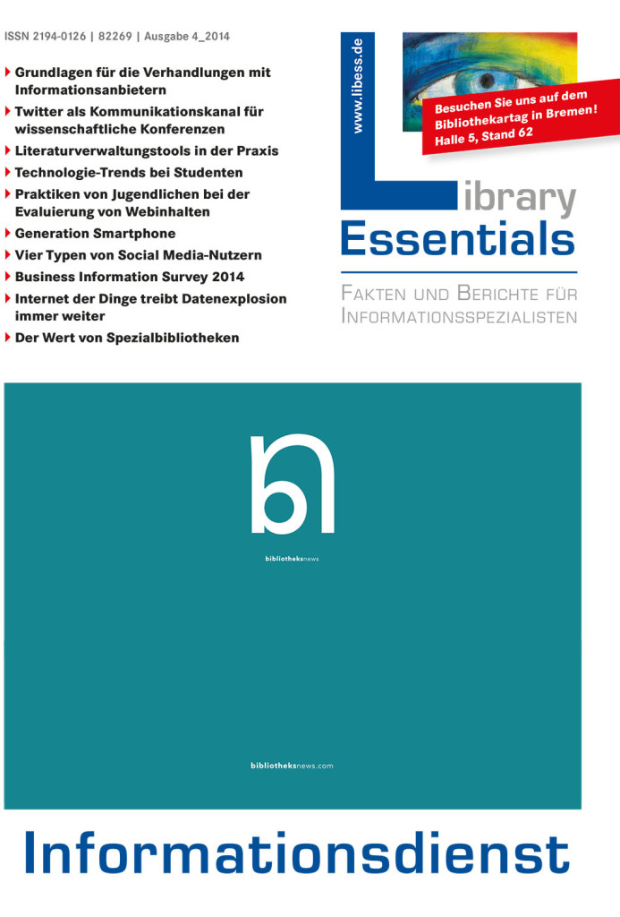 Cover Library Essentials Ausgabe 4/2014