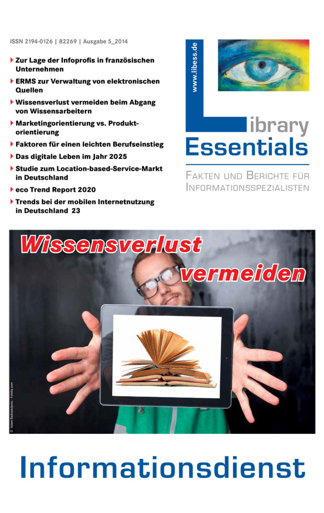 Cover Library Essentials Ausgabe 5/2014