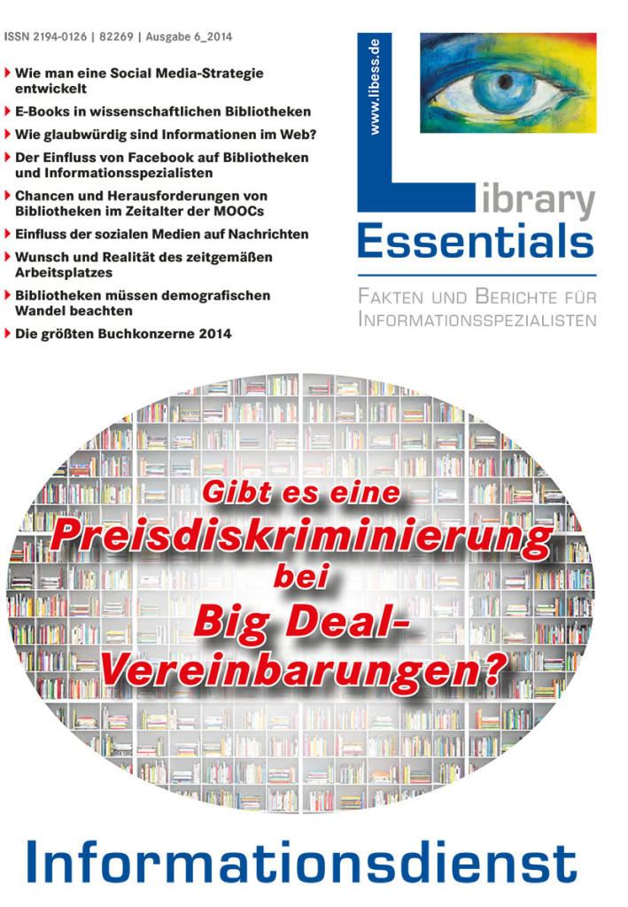 Cover Library Essentials Ausgabe 6/2014