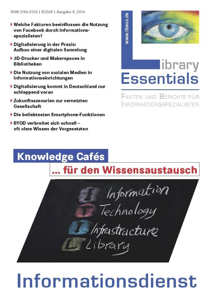Cover Library Essentials Ausgabe 9/2014