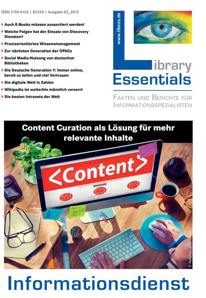 Cover Library Essentials Ausgabe 2/2015