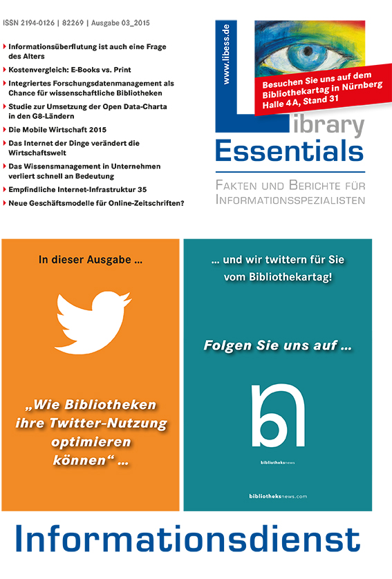 Cover Library Essentials Ausgabe 3/2015
