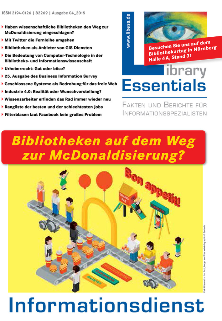Cover Library Essentials Ausgabe 4/2015