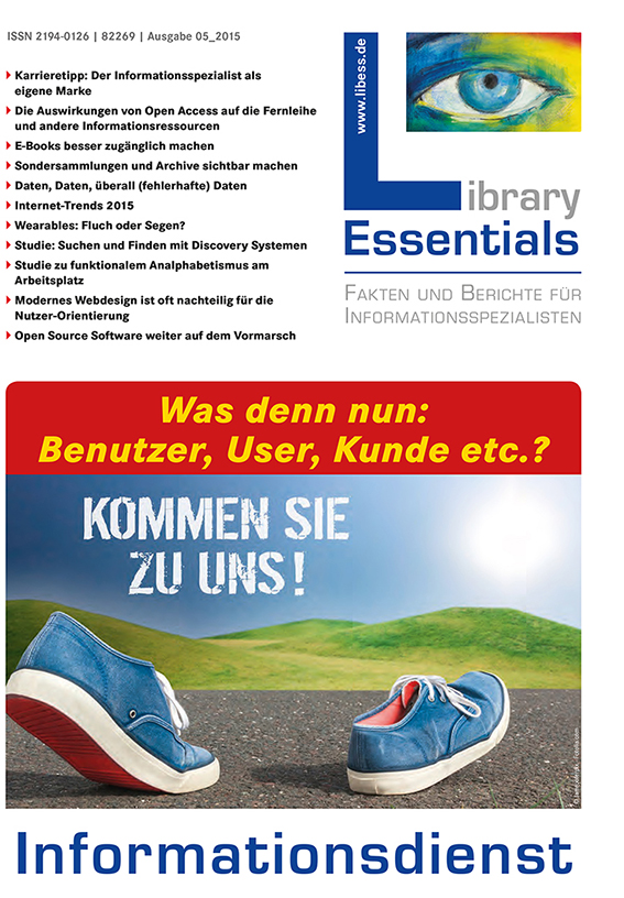 Cover Library Essentials Ausgabe 5/2015