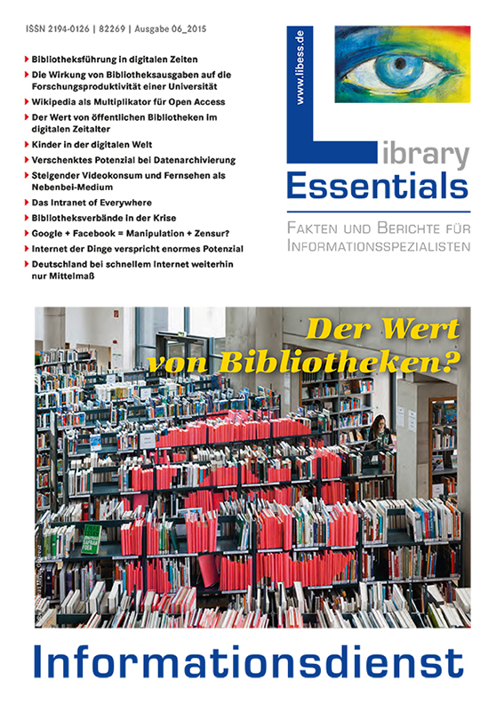 Cover Library Essentials Ausgabe 6/2015