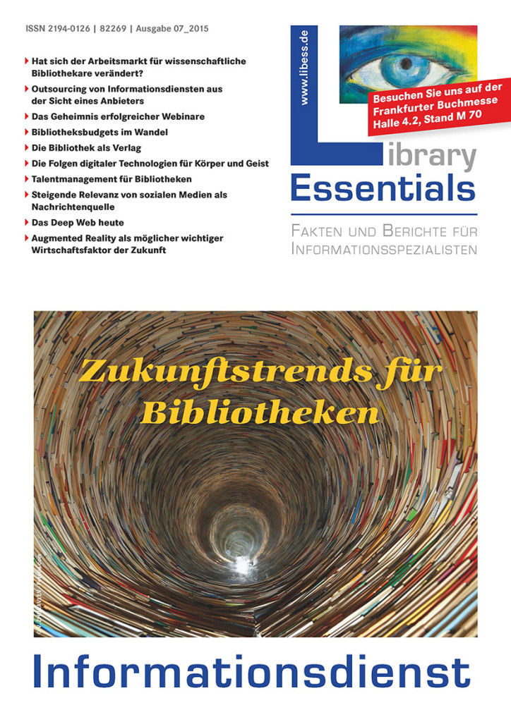 Cover Library Essentials Ausgabe 7/2015