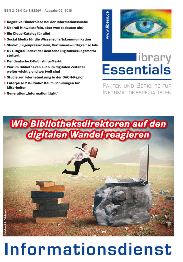 Cover Library Essentials Ausgabe 9/2015