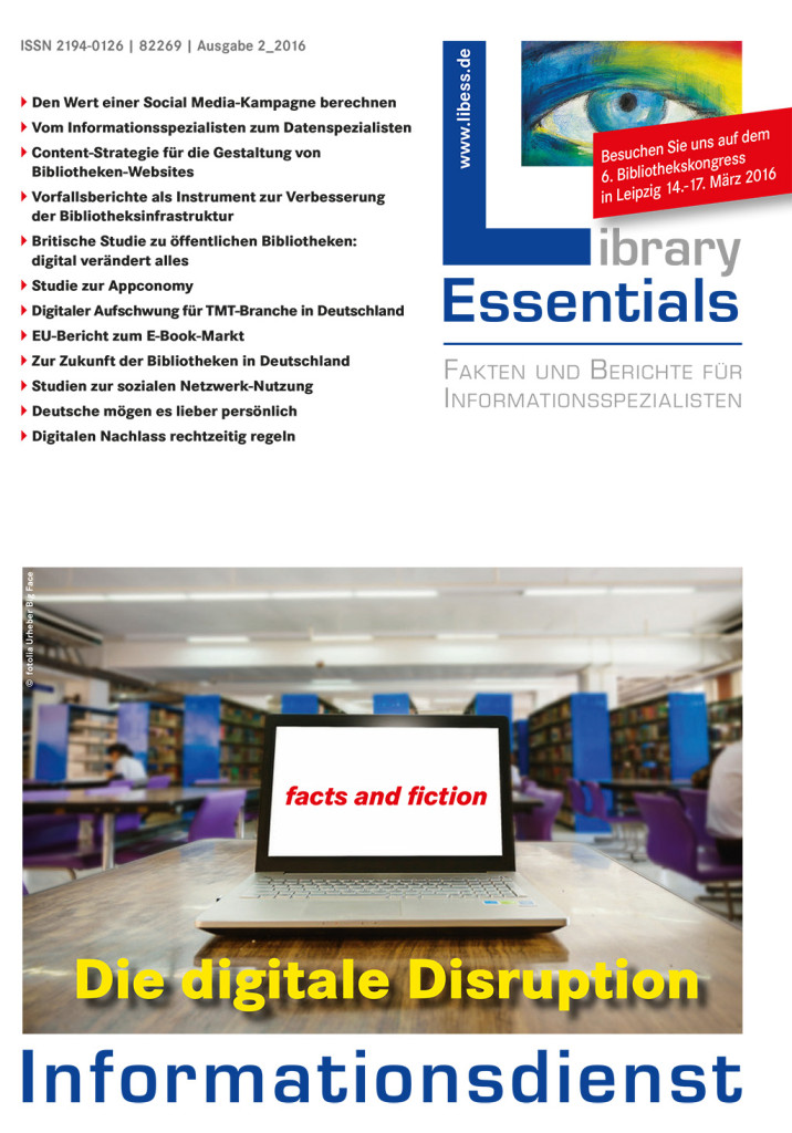 Cover Library Essentials Ausgabe 2/2016