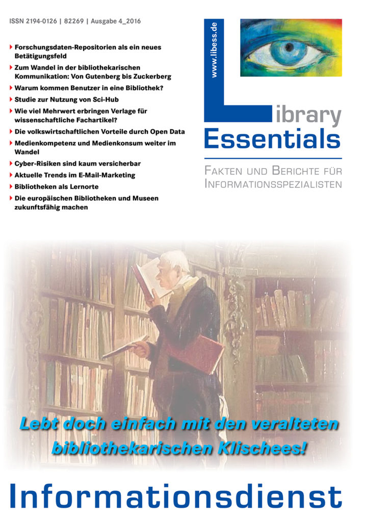 Cover Library Essentials Ausgabe 4/2016