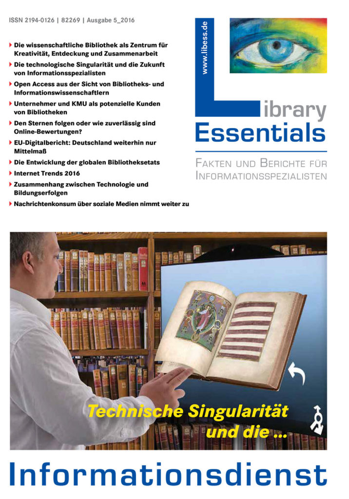 Cover Library Essentials Ausgabe 5/2016