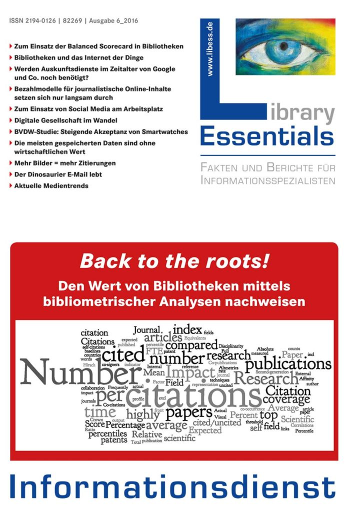 Cover Library Essentials Ausgabe 6/2016