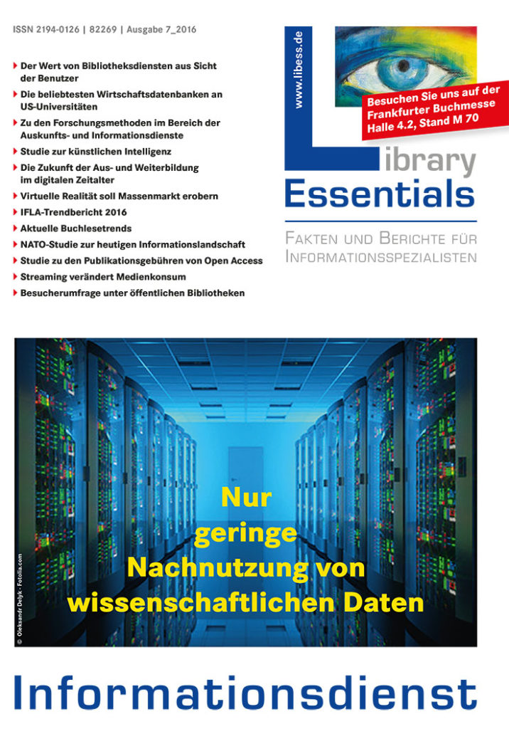 Cover Library Essentials Ausgabe 7/2016