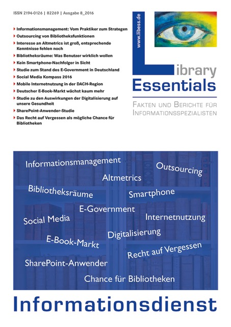 Cover Library Essentials Ausgabe 8/2016