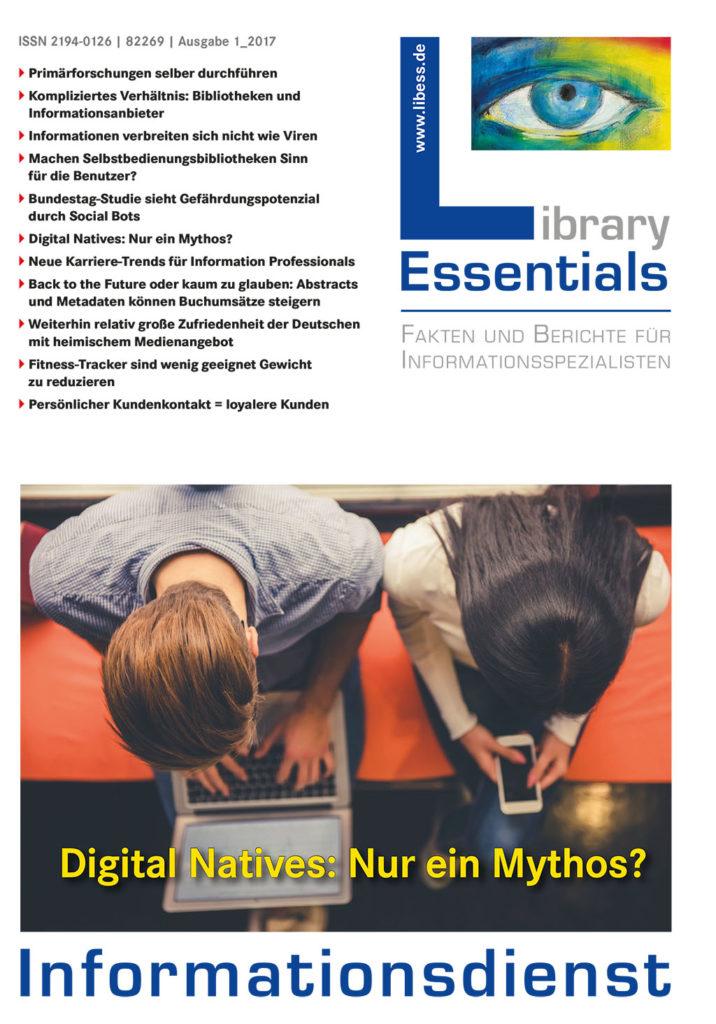 Cover Library Essentials Ausgabe 1/2017