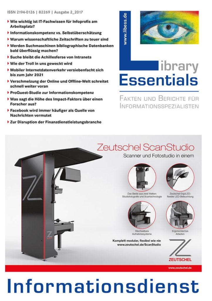 Cover Library Essentials Ausgabe 2/2017