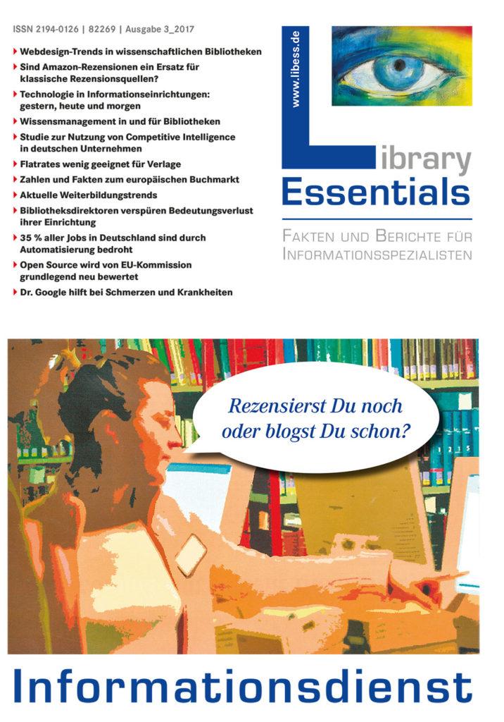 Cover Library Essentials Ausgabe 3/2017