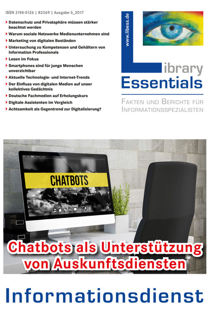 Cover Library Essentials Ausgabe 5/2017