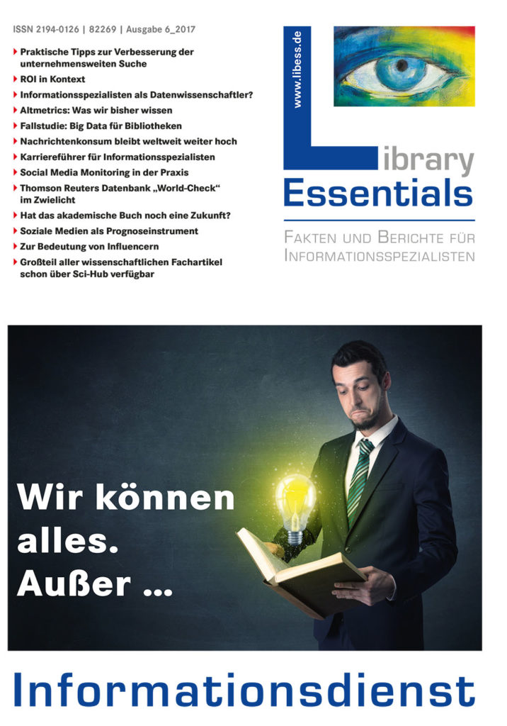 Cover Library Essentials Ausgabe 6/2017