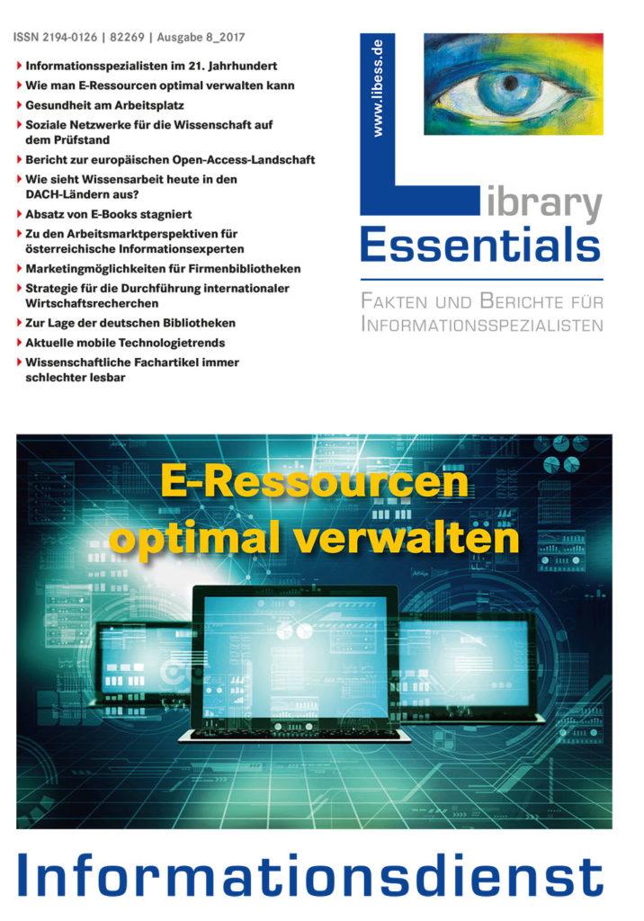 Cover Library Essentials Ausgabe 8/2017
