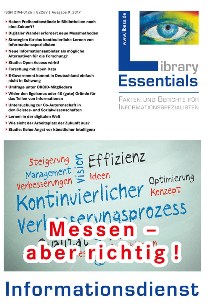 Cover Library Essentials Ausgabe 9/2017