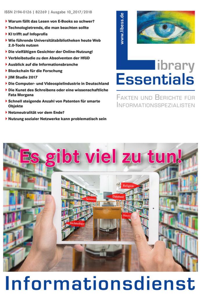 Cover Library Essentials Ausgabe 10/2017