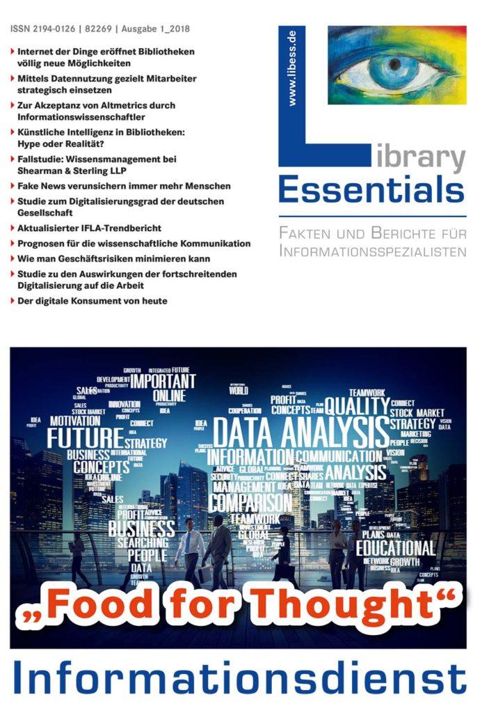 Cover Library Essentials Ausgabe 1/2018
