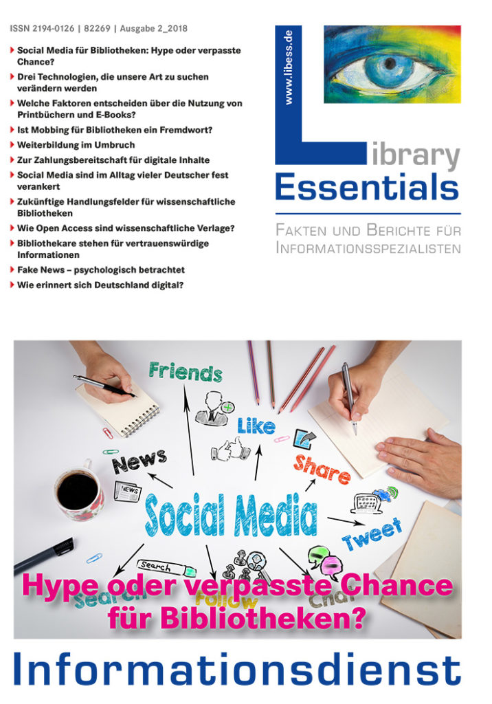 Cover Library Essentials Ausgabe 2/2018