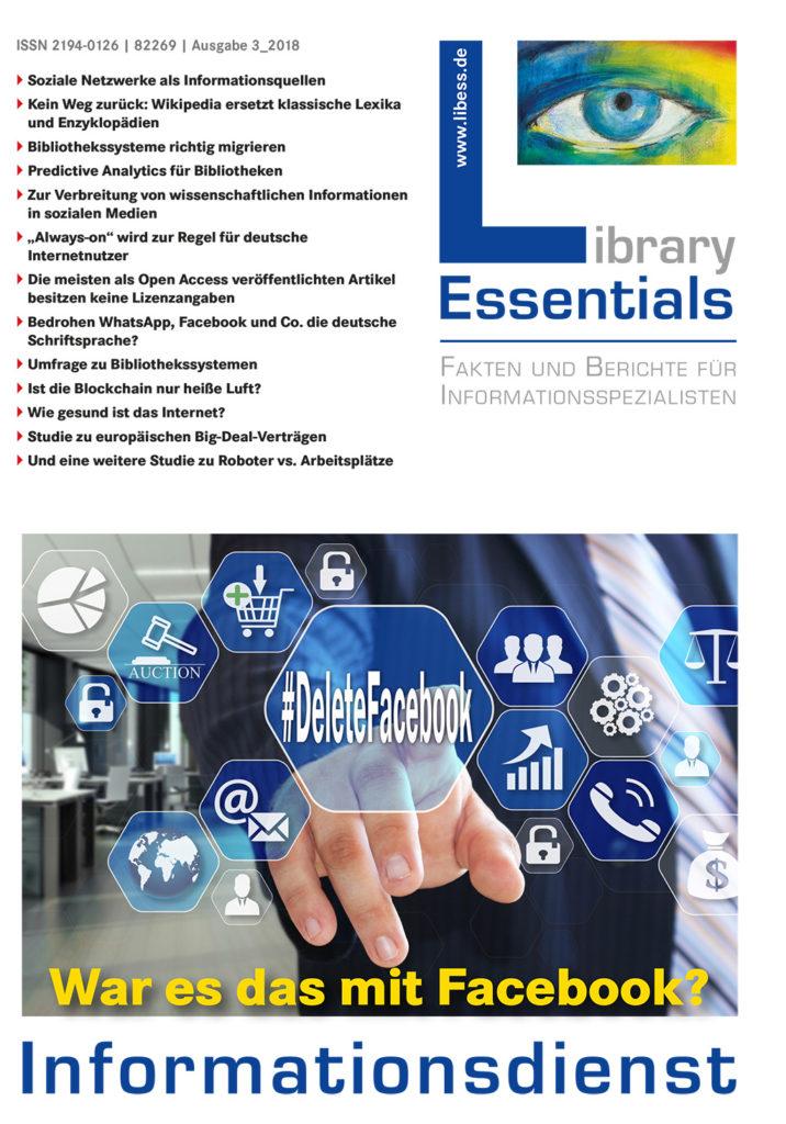 Cover Library Essentials Ausgabe 3/2018