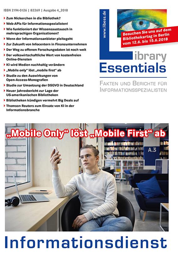 Cover Library Essentials Ausgabe 4/2018
