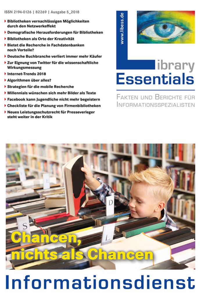 Cover Library Essentials Ausgabe 5/2018