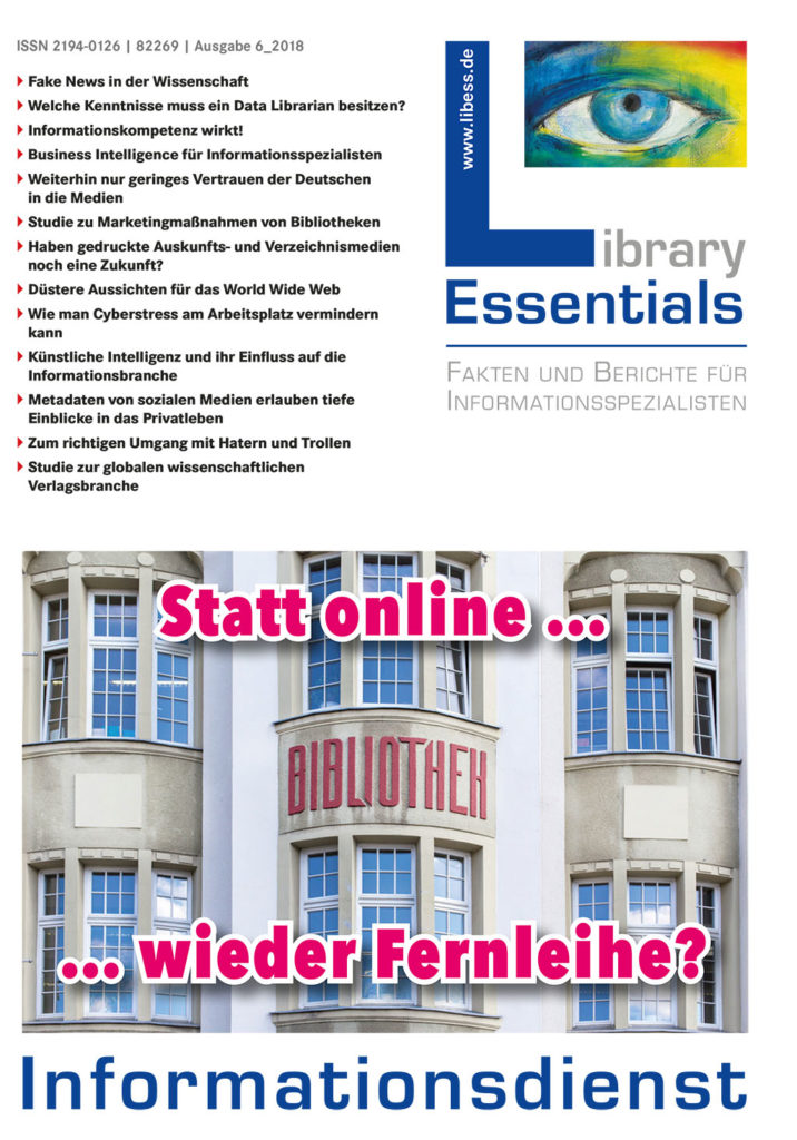 Cover Library Essentials Ausgabe 6/2018