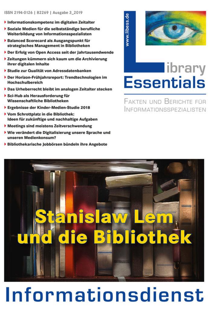 Cover Library Essentials Ausgabe 3/2019