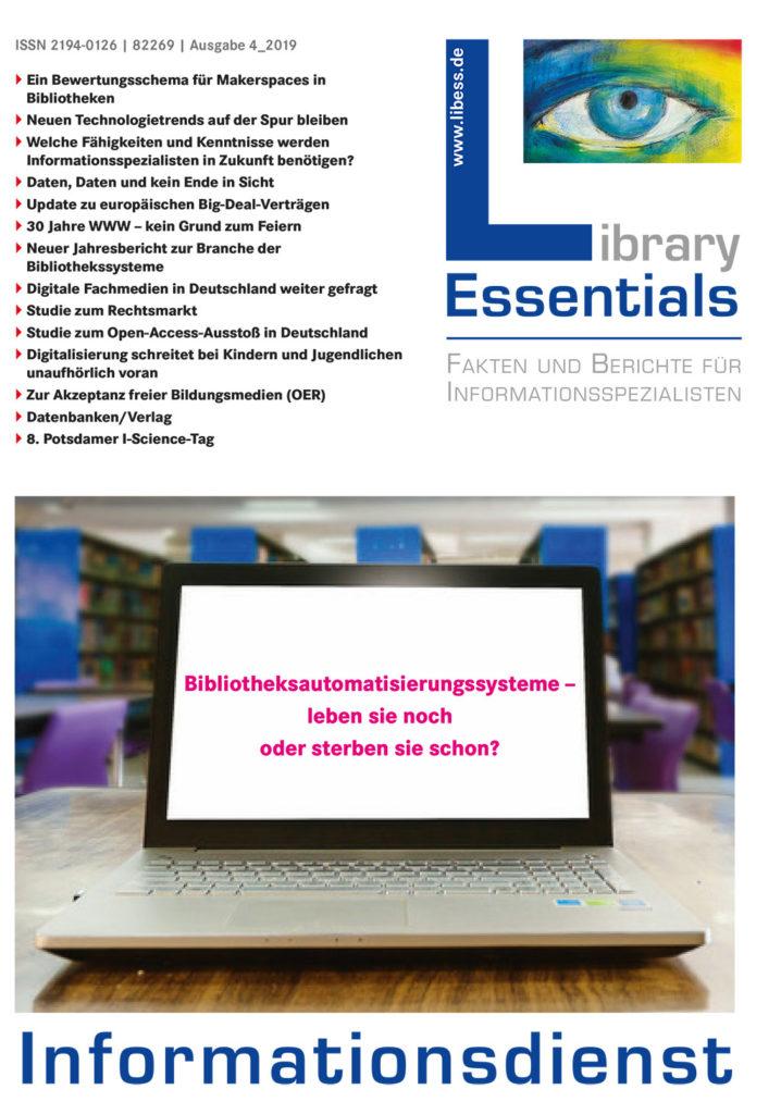 Cover Library Essentials Ausgabe 4/2019