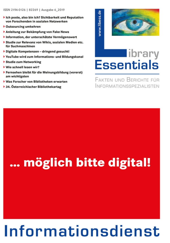 Cover Library Essentials Ausgabe 6/2019