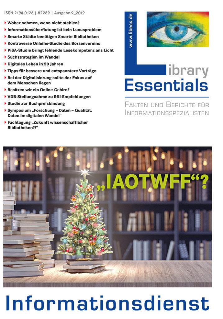 Cover Library Essentials Ausgabe 9/2019