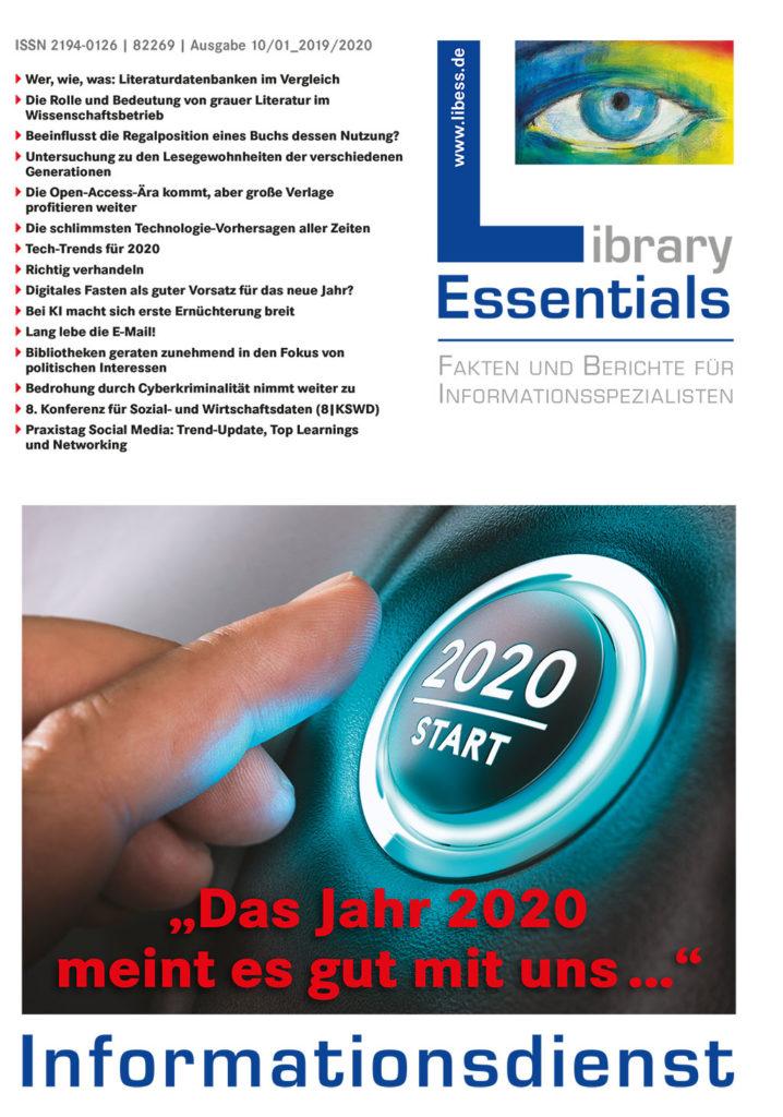 Cover Library Essentials Ausgabe 10-2019/01-2020