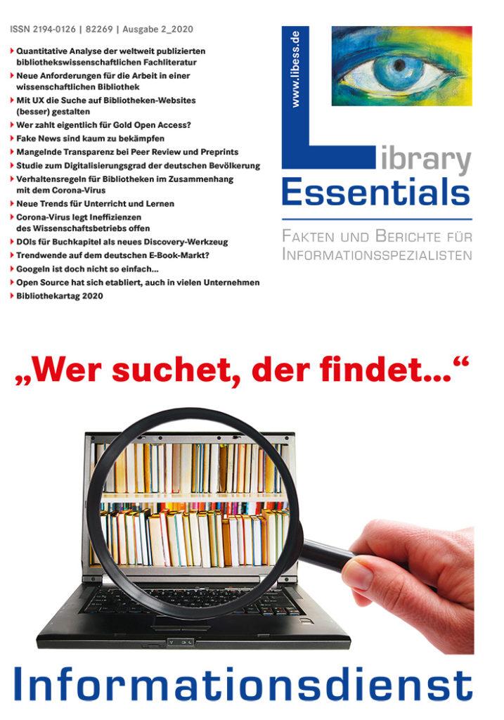 Cover Library Essentials Ausgabe 2/2020