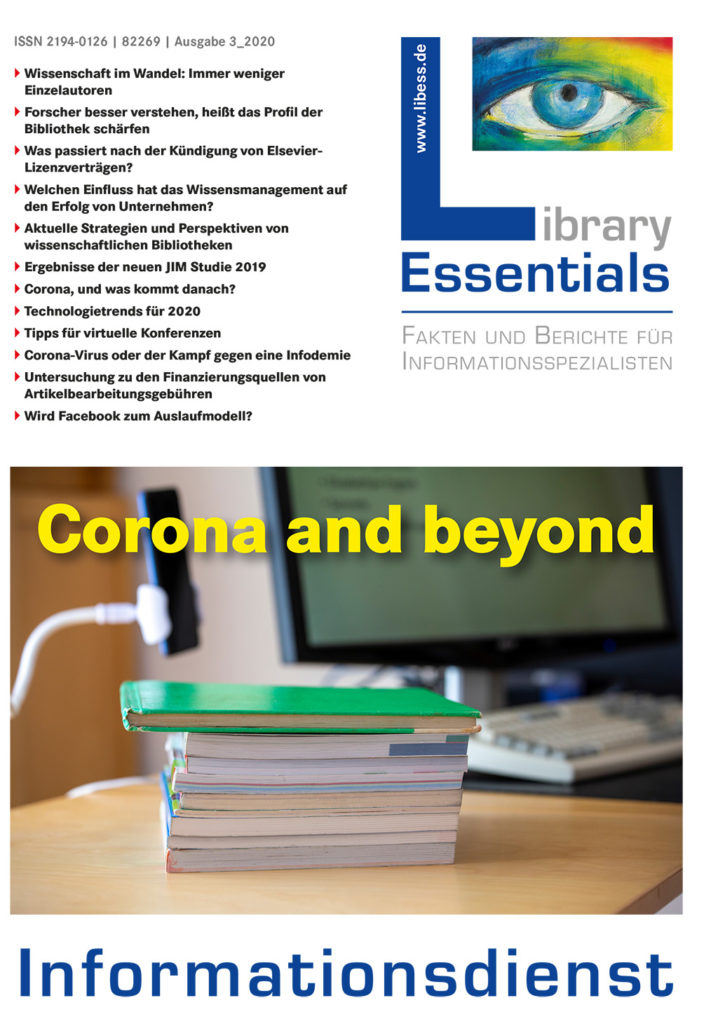 Cover Library Essentials Ausgabe 3/2020