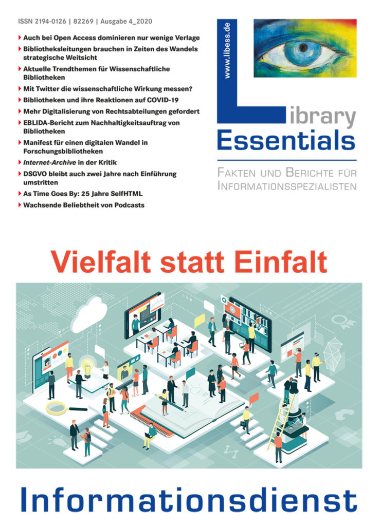 Cover Library Essentials Ausgabe 4/2020