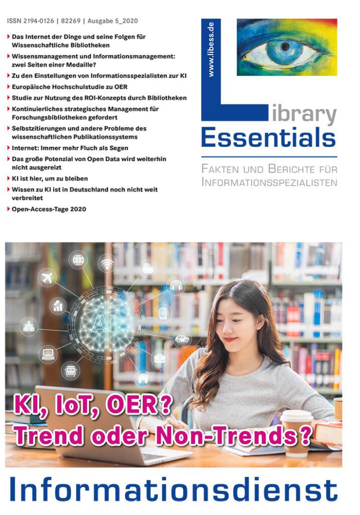 Cover Library Essentials Ausgabe 5/2020