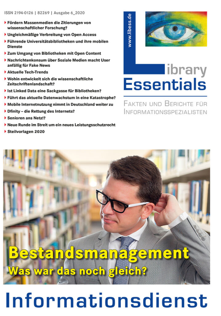 Cover Library Essentials Ausgabe 6/2020
