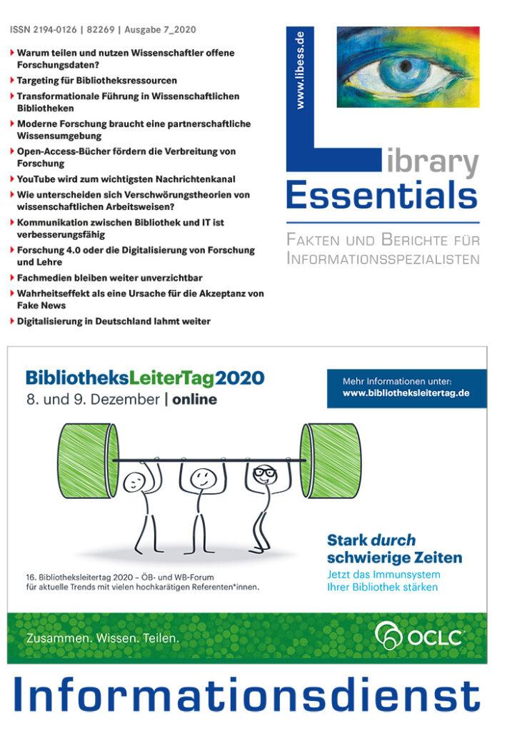 Cover Library Essentials Ausgabe 7/2020